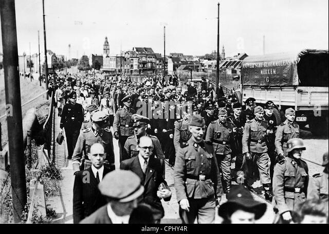 Flemish volunteers of the Waffen-SS, 1943 - Stock-Bilder