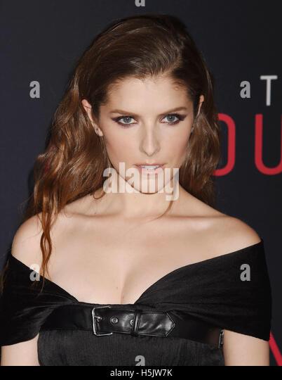ANNA KENDRICK  US film actress in October 2016. Photo Jeffrey Mayer - Stock Image