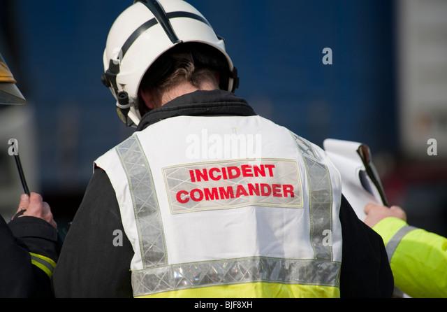 incident commander stock photos  u0026 incident commander stock images
