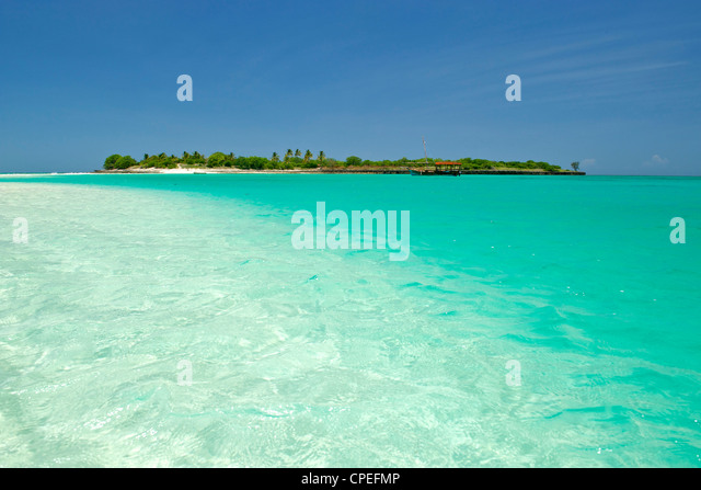 Mogundula island in the Quirimbas archipelago in northern Mozambique. - Stock Image