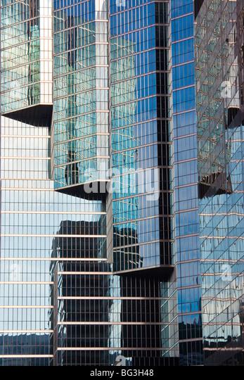 Skyscraper detail in Toronto Canada - Stock Image