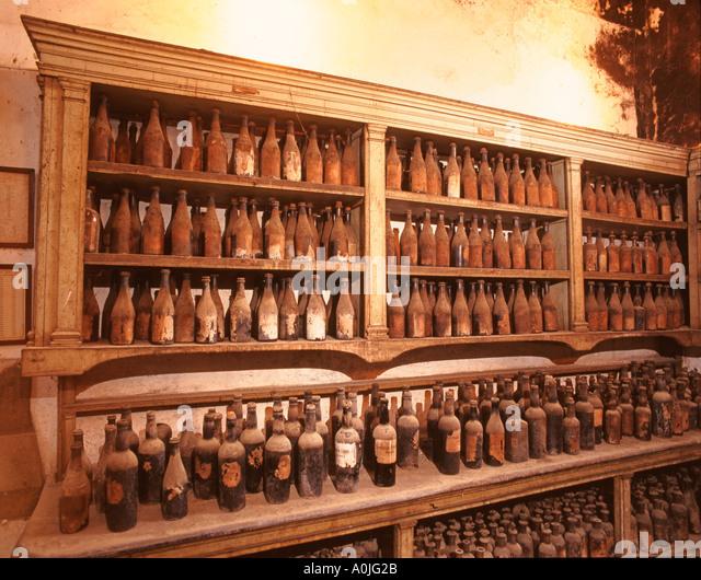Jerez de la Frontera Gonzalez and Byass Sherry dynastie historic showroom - Stock Image
