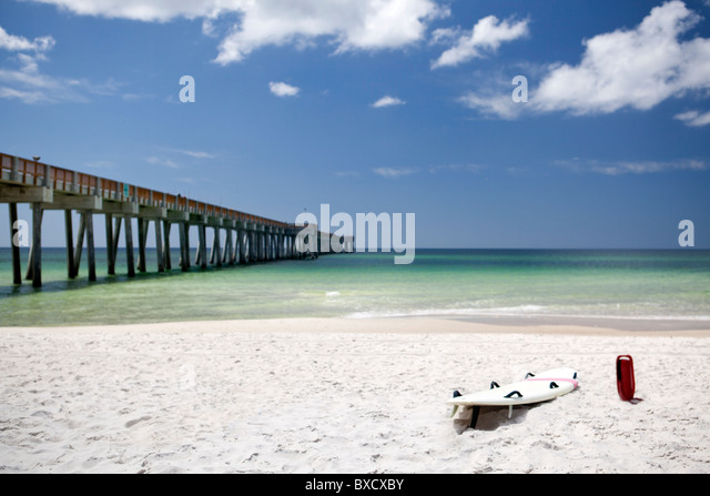 Panama city beach and florida stock photos panama city for Panama city beach fishing pier