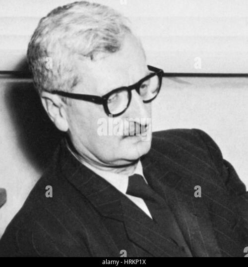 Hermann Oberth, German Physicist and Engineer - Stock Image
