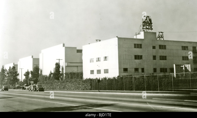 20TH CENTURY FOX STUDIOS at 10201 West Pico, Hollywood, about 1935 - Stock Image