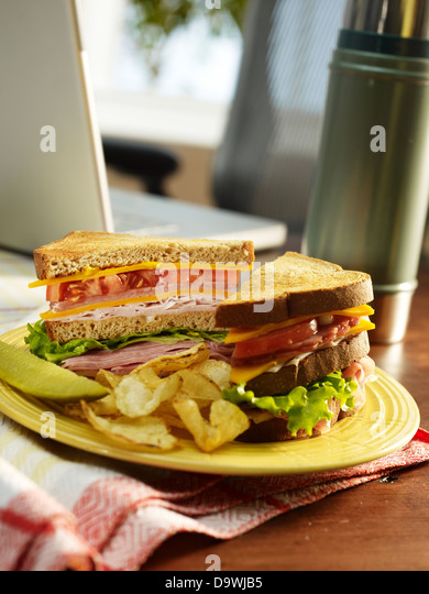 Lunch break - Stock Image