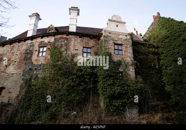 castle of Klenova Czech Republic, Bohemia, Sumava, Europe. Photo by Willy Matheisl - Stock Image