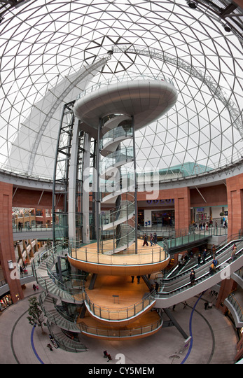 The Dome of Victoria Square in Belfast, Northern Ireland. - Stock-Bilder