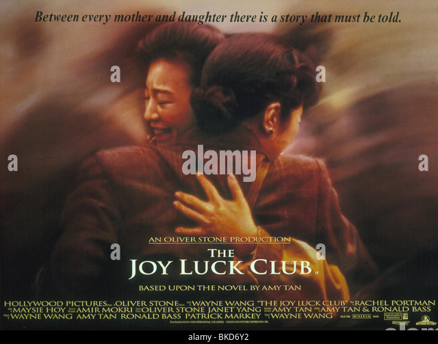 JOY LUCK CLUB citing cources please?