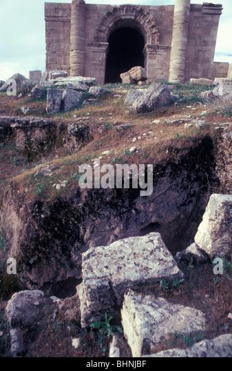 Parthian ruins of Hatra Iraq - Stock Image