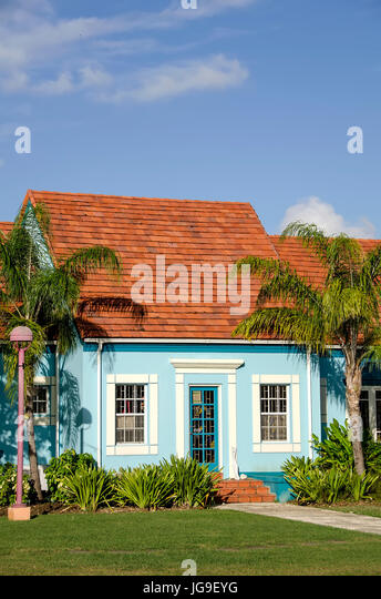 Pelican Village Chattel House Bridgetown Barbados - Stock Image