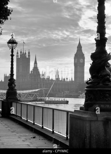 Houses of Parliament, London - Stock-Bilder