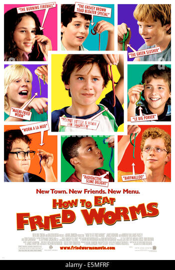 hallie kate eisenberg how to eat fried worms