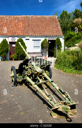 German Occupation Museum,Guernsey,Channel Islands, - Stock Image