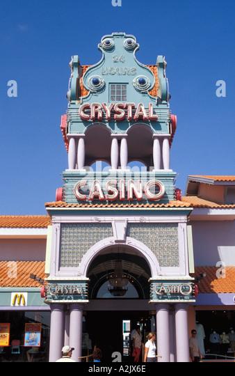 Aruba Oranjestad Crystal Casino - Stock Image