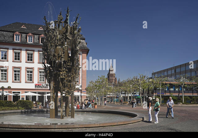 water mainz germany stock photos water mainz germany stock images alamy. Black Bedroom Furniture Sets. Home Design Ideas
