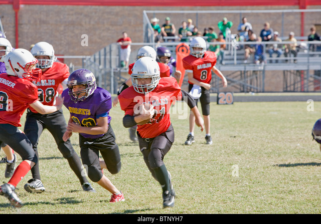 American Youth Football - Stock Image
