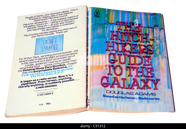 a review of the hitch hikers guide to the galaxy by douglas adams The hitchhiker's guide to the galaxy: the funniest douglas adams quotes previous slide next slide 1 of 17 view all skip ad in the beginning, the universe was created.