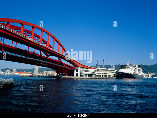 Kobe Bridge, Kobe, Hyogo, Japan - Stock Image