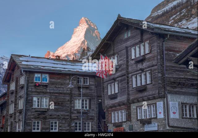 Matterhorn, Zermatt, Valais, Switzerland, Europe - Stock-Bilder