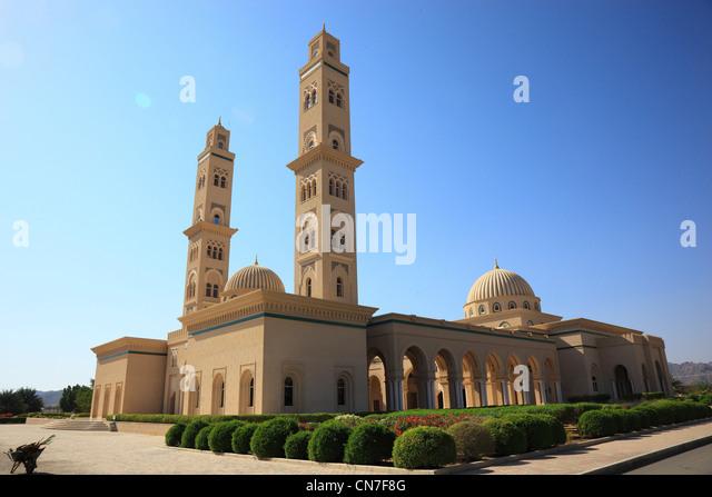 Moschee von Bahla. Die Oasenstadt Bahla ist eine der ältesten Königstädte Omans. - Stock-Bilder