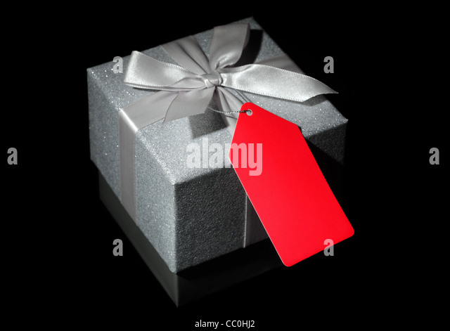 Gift box - Stock Image