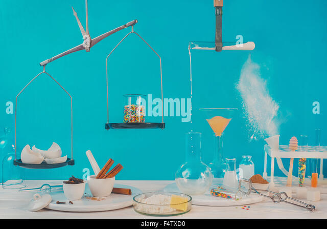 Pastry lab - Stock Image