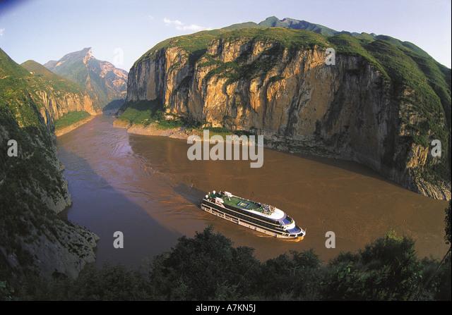 Yangtse River,China - Stock Image