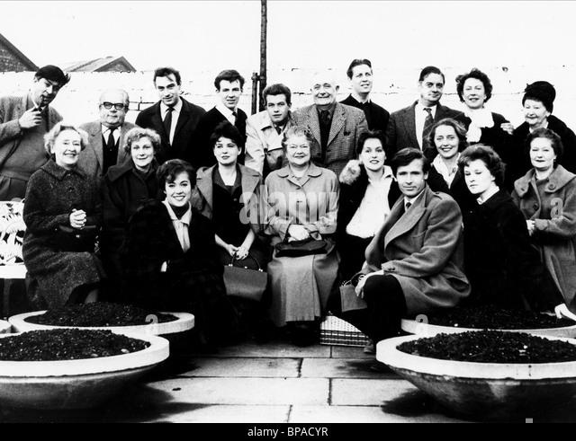 IVAN BEAVIS JACK HOWARTH ERNST WALDER PHILIP LOWRIE ALAN ROTHWELL ARTHUR LESLIE FRANK PEMBERTON NOEL DYSON MARGOT - Stock Image