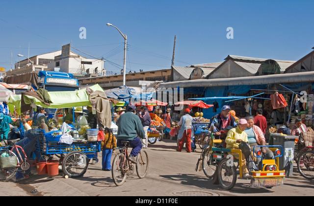 Indian Market In Peru Stock Photos & Indian Market In Peru ...