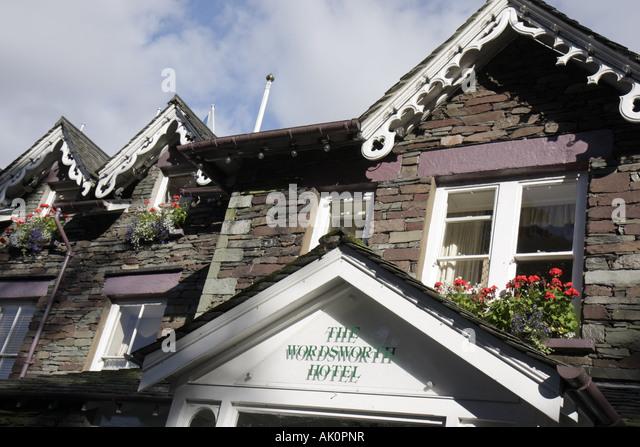 UK, England, Grasmere, The Wordsworth Hotel, - Stock Image