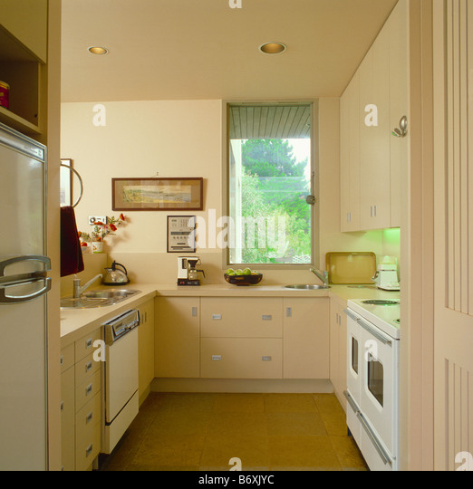 cream galley kitchens interiors modern kitchens stock photos amp interiors 210