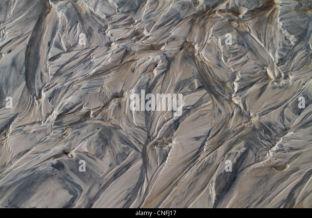 dirty sand, wastes of metallurgy production - Stock-Bilder