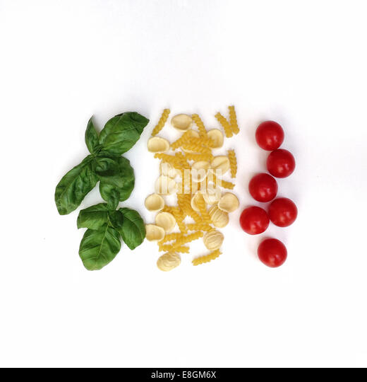 Conceptual italian flag - Stock Image