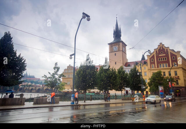 Karlovy lazne prague stock photos karlovy lazne prague for Where is prague near