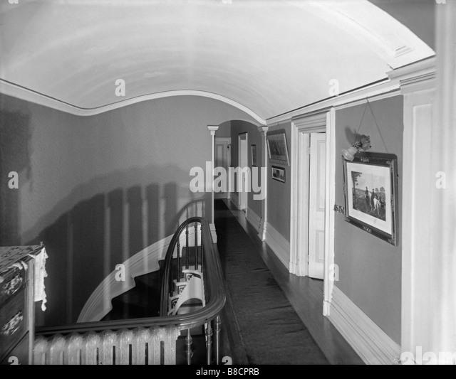 Victorian Family Home, Montreal, Quebec, circa 1800s - Stock-Bilder