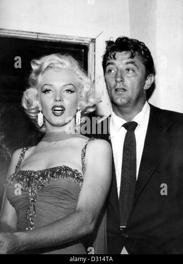 Marilyn Monroe, Robert Mitchum - Stock Image