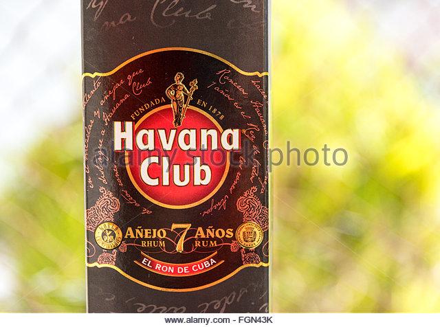 Rum Havana Club Bar Stock Photos & Rum Havana Club Bar Stock Images ...