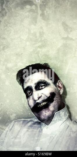 Halloween scary clown - Stock-Bilder