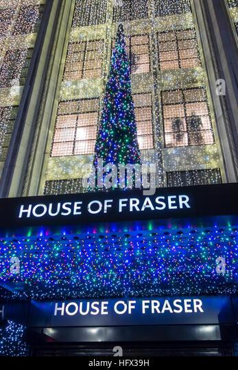 House of fraser london stock photos house of fraser for Housse of frazer