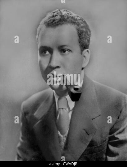 Frank Yerby (1916-1991) African-American historical novelist best known for 'The Man from Dahomey' (1971). - Stock Image
