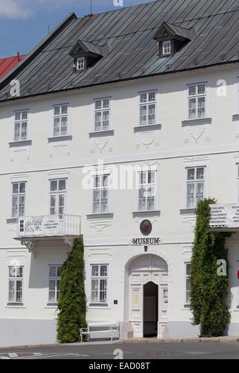 Municipal Museum and Goethe Memorial, Mariánské Lázn?, Karlovy Vary Region, Bohemia, Czech Republic - Stock-Bilder
