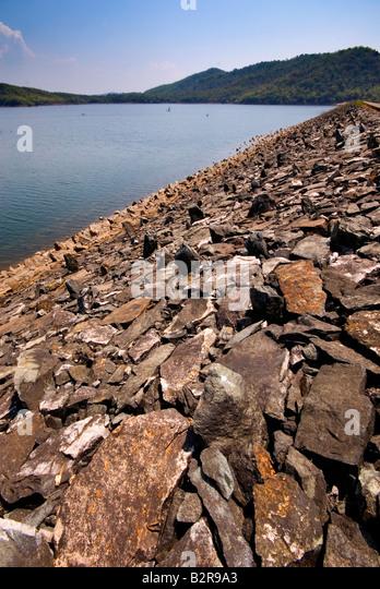 A Dam, Goa, India - Stock-Bilder