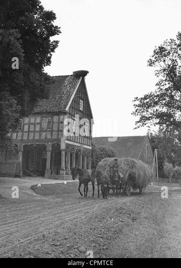 Farm in West Prussia, 1942 - Stock Image
