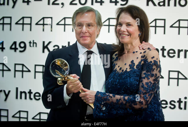 Karlovy Vary, Czech Republic. 9th July, 2014. American film director, producer and screenwriter William Friedkin, - Stock-Bilder