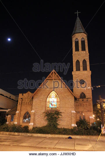 General view. General views of St. Peter's Episcopal Church where the wedding of Mila Kunis' brother Michael - Stock Image