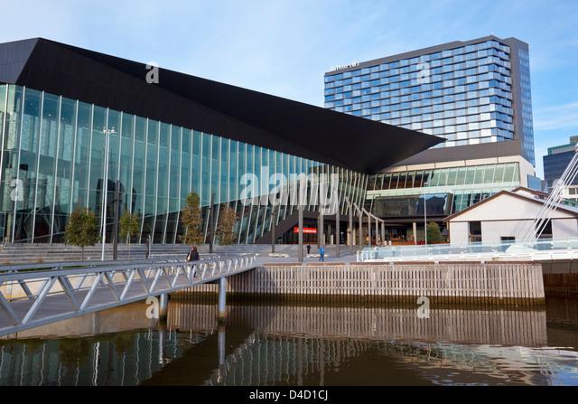 Melbourne Convention Exhibition Centre. South Wharf, Melbourne, Victoria, Australia - Stock Image
