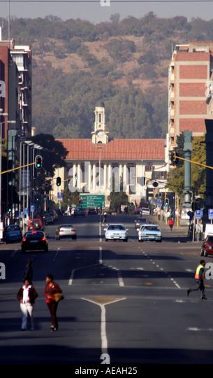 Pretoria city Cafe riche - Stock Image