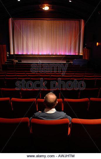 Aldeburgh cinema Suffolk UK - Stock Image