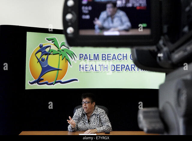 Feb 3, 2010 - West Palm Beach, Florida, U.S. - Palm Beach County Health Department Director ALINA ALONSO, M.D., - Stock Image